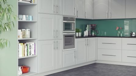New England Super Matt Light Grey Kitchen