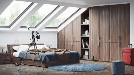 Balmoral bedroom - opera walnut