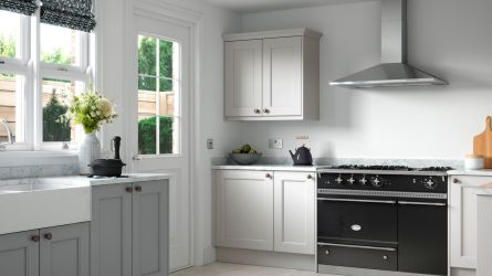 Allestree Beaded Kitchen in Luna & Light Grey
