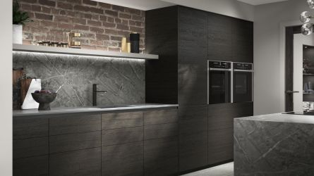 Alpina Deep Oak Kitchen