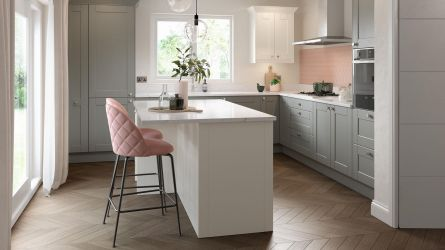 Belsay Dust Grey Kitchen
