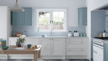 Farringdon Shaker Porcelain Painted Kitchen