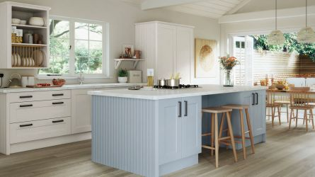 Hartside Painted Kitchen in Sky Blue & Porcelain