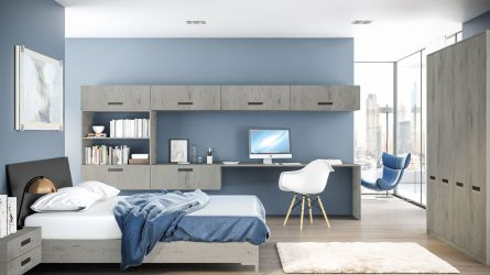 Bella Lazio  bedroom in London Concrete