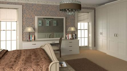 Bella Warwick style fitted bedrooms oxon