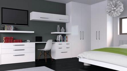 Bella porcelain white Venice fitted bedrooms Birmingham