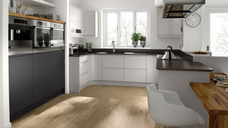 Remo Graphite High Gloss Lacquer Kitchens