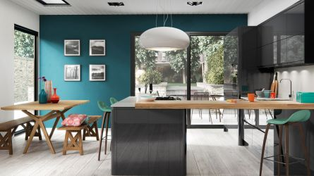 Welford Handleless Kitchen in Graphite