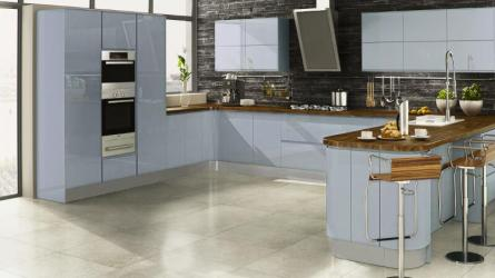Welford Kitchen in Sky Blue