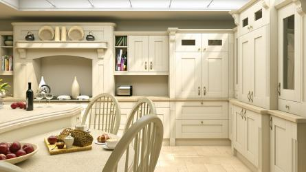Wilton Oakgrain Cream Kitchen