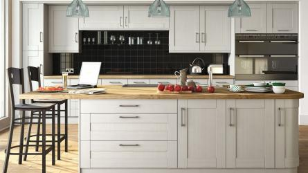 Wilton Oakgrain Grey Kitchens