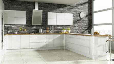 Welford Bright White Kitchen