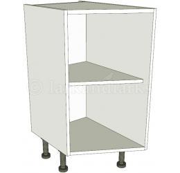 Angled kitchen base units highline for Kitchen base unit carcase only