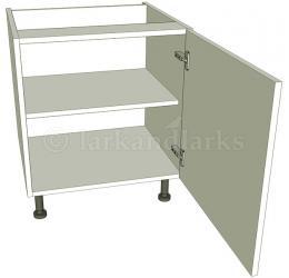 Low level kitchen base unit single for Kitchen base unit carcase only