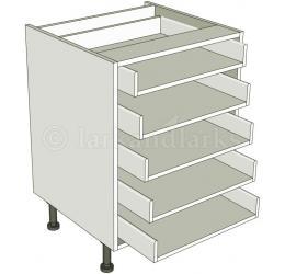 5 drawer base unit for Kitchen base unit carcase only