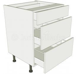 3 drawer base unit for Kitchen base unit carcase only