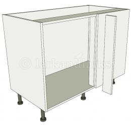 Variable corner highline carousel for Service void kitchen units