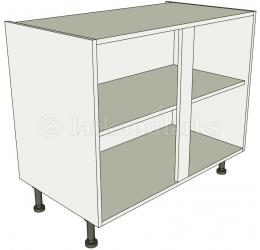 Kitchen Double Base Unit Flat Pack