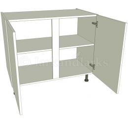 Kitchen double base unit flat pack for Double kitchen base unit