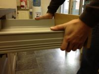 Removing Tandem drawer box from runners