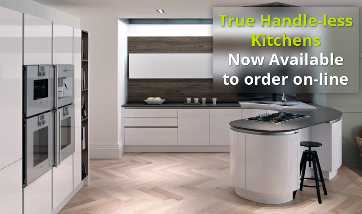Tomba True Handleless Kitchen