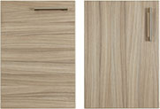 Radius bedroom cupboard door grain options