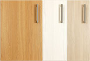 Radius bedroom cupboard door selection
