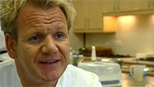 Gordon Ramsey kitchen refurbishment