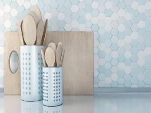 Wooden utensils.