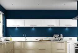 Kitchen with under cupbaord lighting