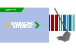 Sparkling kitchen quick tip image