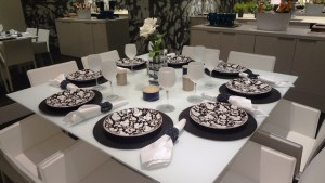Dinner party kitchen layout