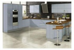 Welford kitchen in blue