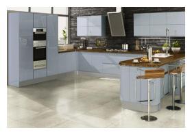 Welford kitchen in blue