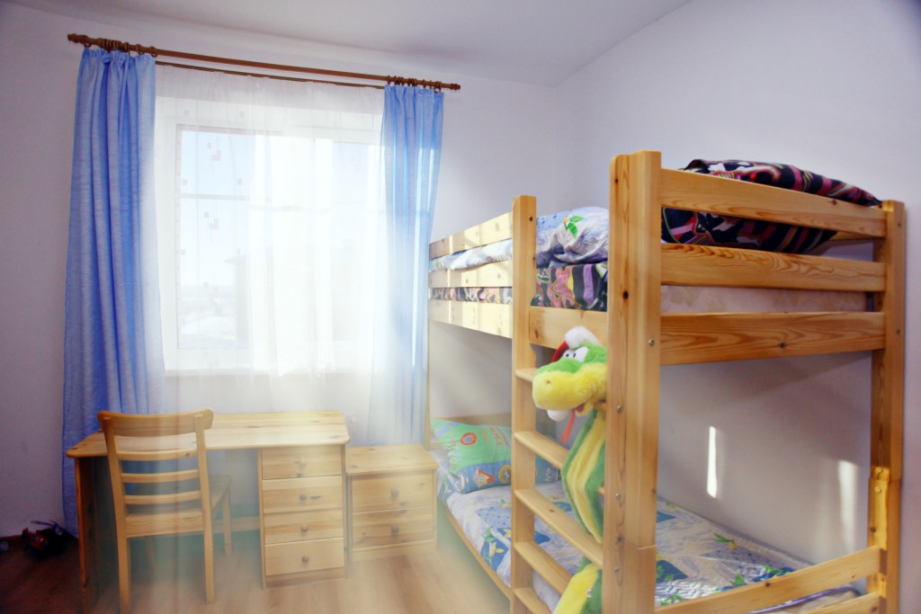 Interior Children's bunk bed