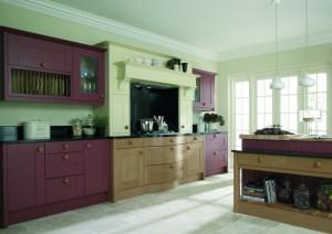 Broadoak kitchen in two tone finish