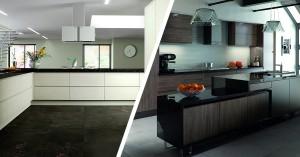 Inspiration for handleless kitchens