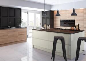 Natural-Gloss-Handleless-Kitchen