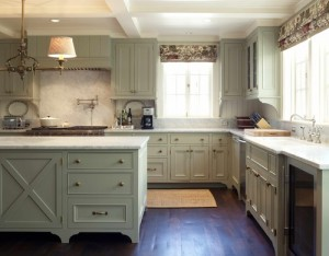 roman-blinds-traditional-kitchen