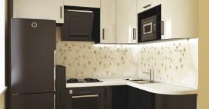Kitchen with kitchen gadgets