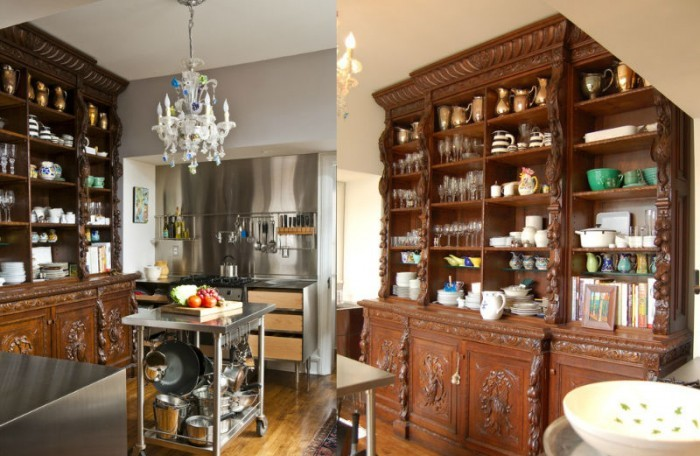 eclectic-kitchen-dresser