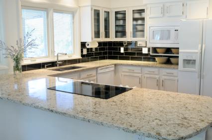 New Kitchen with granite worktop