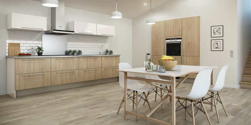 Mix and match kitchen