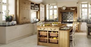 Mix and match kitchen cabinets