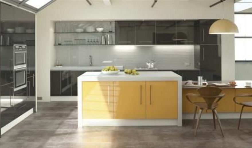 Bright Summer Kitchen Colours
