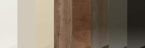 Coffee coloured wood