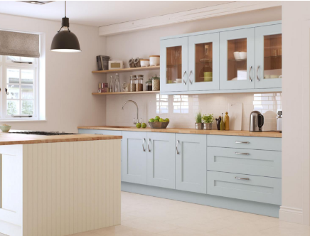 Painted Kitchen Cupboard Doors Kitchen Summer Trends