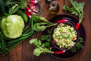 Salad healthy eating lettuce