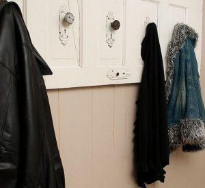 Kitchen Door Handles Recycled into Coat Hanger