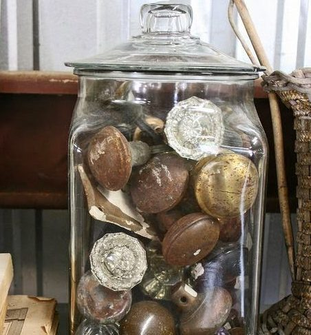 Decorative Door Knob Jar
